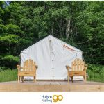 Tentrr Campsite: Canvas Tent on a Platform