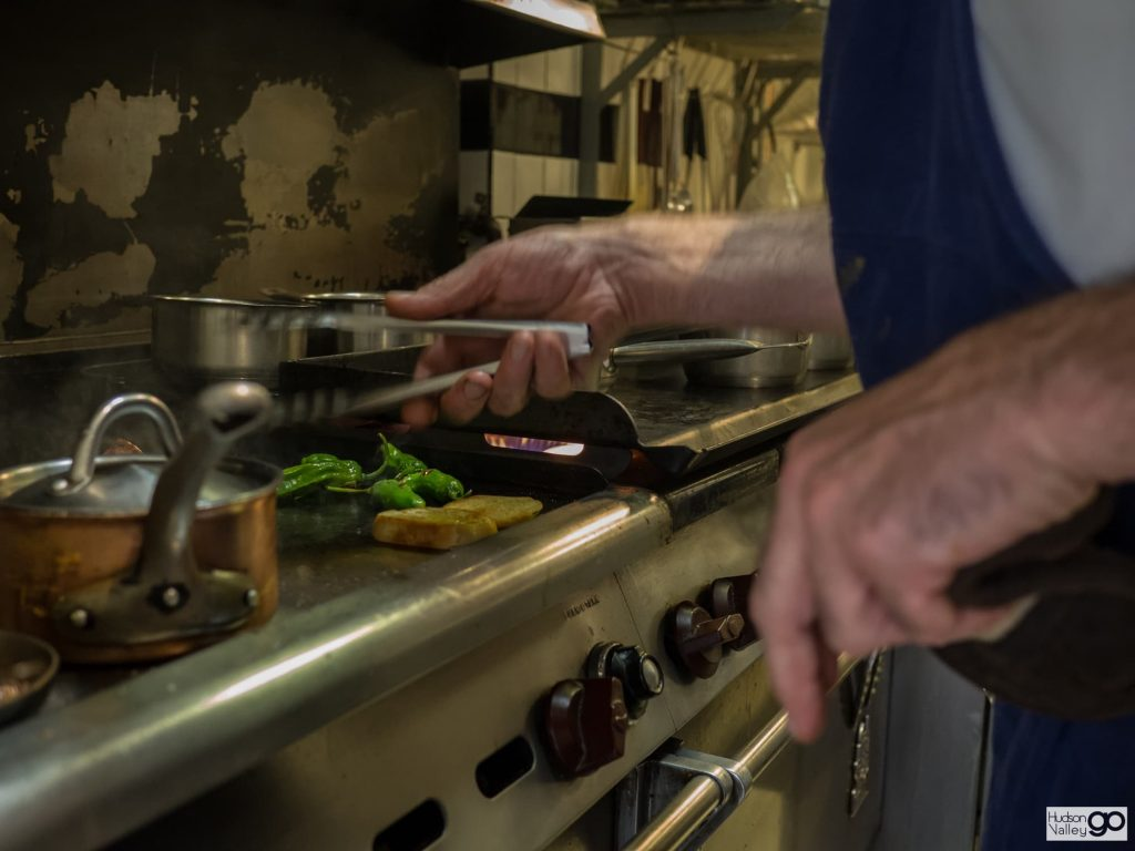 In the kitchen | The Grange Restaurant in Warwick, NY